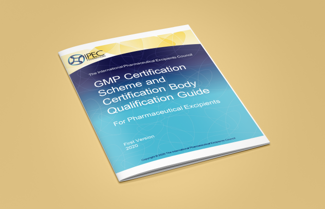 New IPEC Guide: GMP Certification Scheme and Certification Body Qualification Guide For Pharmaceutical Excipients