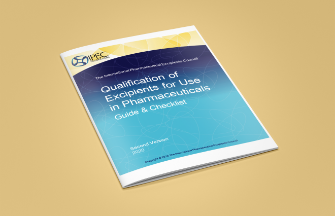 Updated IPEC guide: Qualification of Excipients for Use in Pharmaceuticals