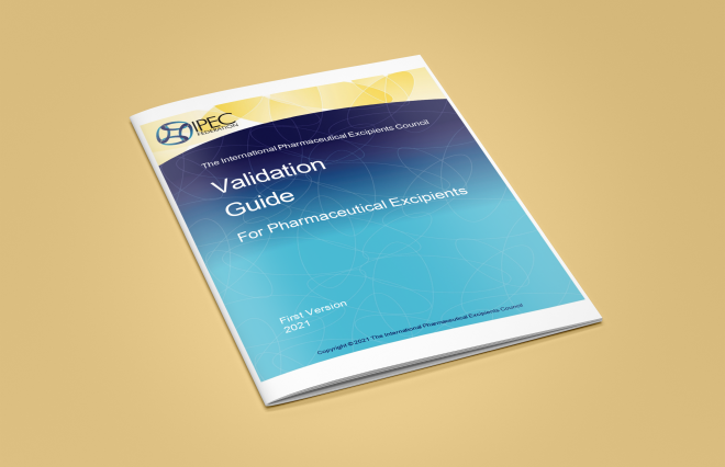 New IPEC Guide: Validation Guide for Pharmaceutical Excipients